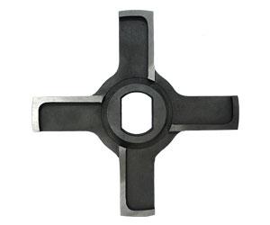Нож крестовой D160 с буртом 23x32x42