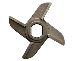 Нож крестовой D82 с буртом 16x20x25 литой