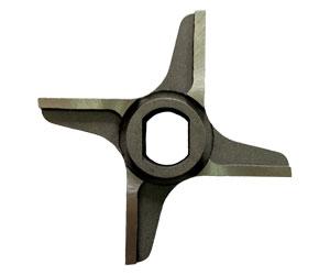 Нож крестовой D98 с буртом 15x19x26